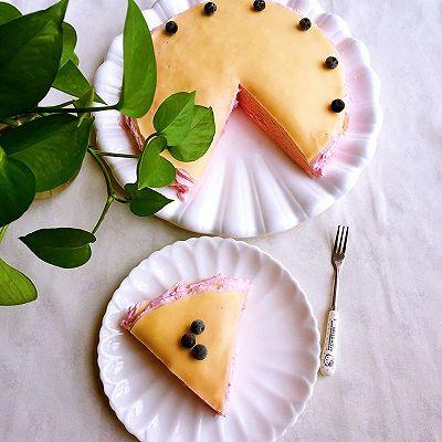 火龙果酸奶千层蛋糕