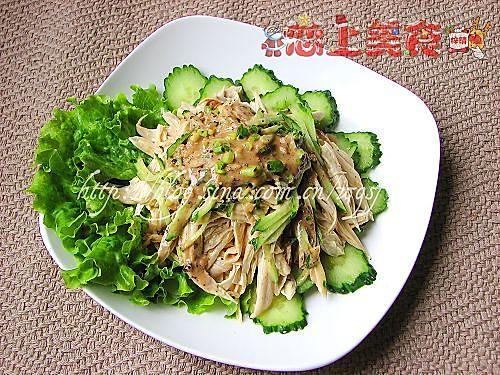 椒麻拌腐竹的做法