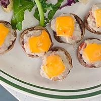 芝士培根芋泥烤口蘑—快手小食系列的做法图解21