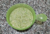 西兰花虾皮米粉的做法