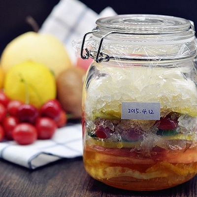 美容养颜的水果酵素