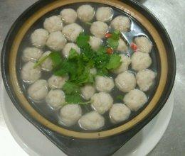 自制鱼丸雪菜汤的做法