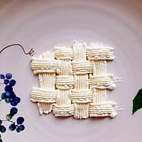 6寸水果奶油花篮裱花蛋糕(附戚风蛋糕制作)的做法图解24