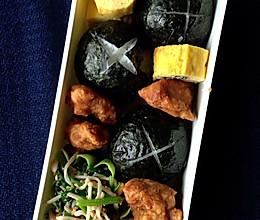 手雷饭团便当 - 小朋友的午餐日记(11/1)的做法