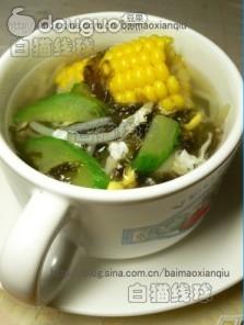 紫菜玉米汤的做法