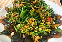 [春夏菜]黄瓜菜凉拌皮蛋的做法