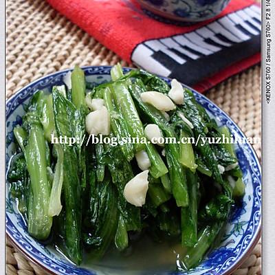 蒜香油麦菜