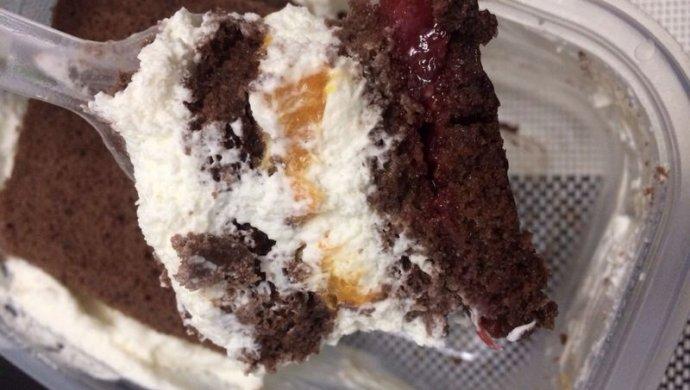 可可芒果盒子蛋糕(木糖醇)