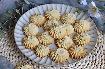 #我们约饭吧#咸香酥脆,葱香四溢的葱香曲奇饼干