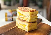 #全电厨王料理挑战赛热力开战!#午餐肉开放三明治的做法