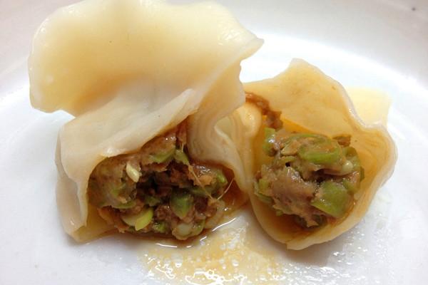 豇豆馅饺子的做法