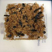 营养美味的芝士肉松三明治(含折纸法)的做法图解9