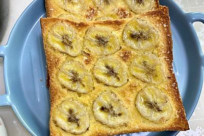香蕉烤吐司片
