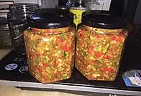 刀豆辣椒酱的做法