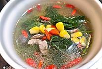 玉米桑叶瘦肉汤的做法