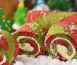 圣诞季 | 年年必做的双色蛋糕卷的做法