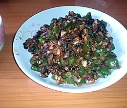 豆豉炒辣椒的做法