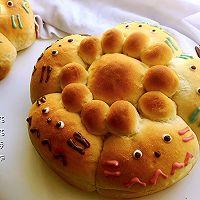 龙猫夹馅面包的做法图解10