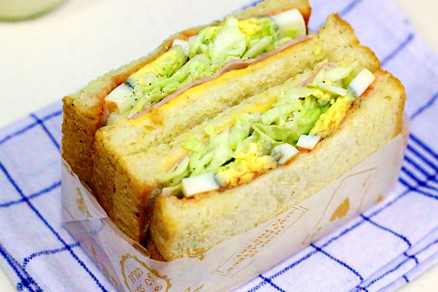 沼夫三明治的做法_【图解】沼夫三明治怎么做如何做
