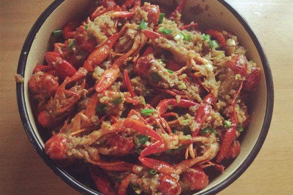 蒜蓉小龙虾的做法_【图解】蒜蓉小龙虾怎么做如何做