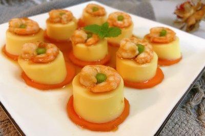 5分钟搞定的日本豆腐蒸虾仁,一上桌就抢光