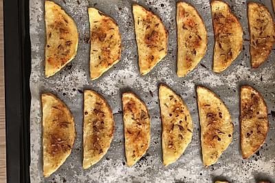 厚烤土豆片(美的烤箱)