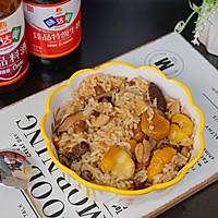 #味达美名厨福气汁,新春添口福#板栗焖鸡饭的做法图解10