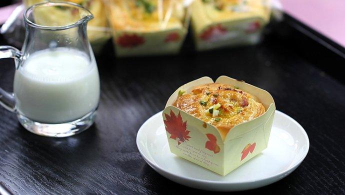 香葱培根奶酪面包