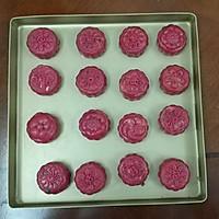 火龙果藜麦蔓越莓冰皮月饼的做法图解26