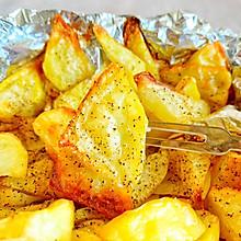 #餐桌上的春日限定#烤薯角,黑胡椒烤薯角!追剧必备好吃到飞!