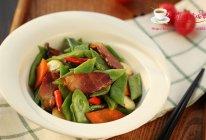 刀豆炒腊肉 的做法
