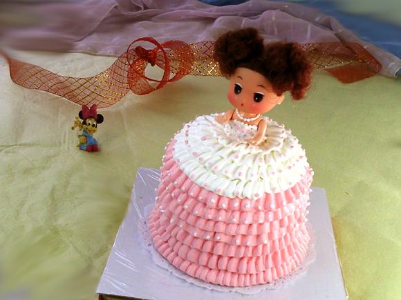 蕾丝小公主裱花蛋糕