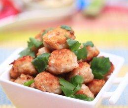 香煎虾肉丸子的做法