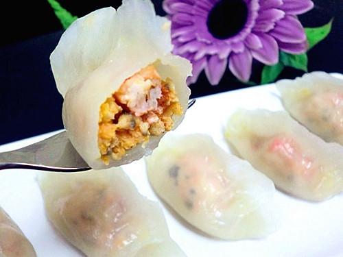 水晶虾饺的做法