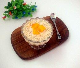 小甜品~芒果西米露。的做法