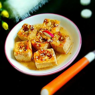 炸豆腐干子