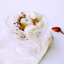 蔓越莓牛奶凉糕#单挑夏天#
