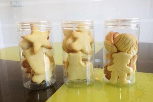 初体验の 卡通黄油小饼干的做法