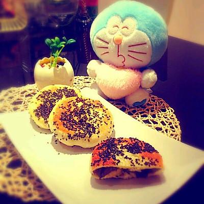 青椒茄子馅饼