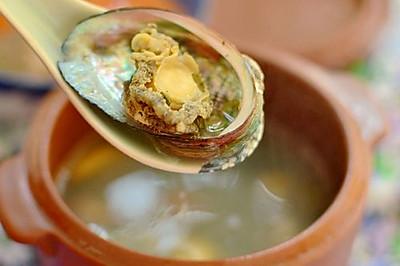 【鲍鱼炖排骨】柔肝、滋阴、清热的汤品