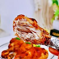 #全电厨王料理挑战赛热力开战!#柠香奥尔良烤鸡腿的做法图解17