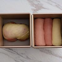 粉色渐变吐司的做法图解8