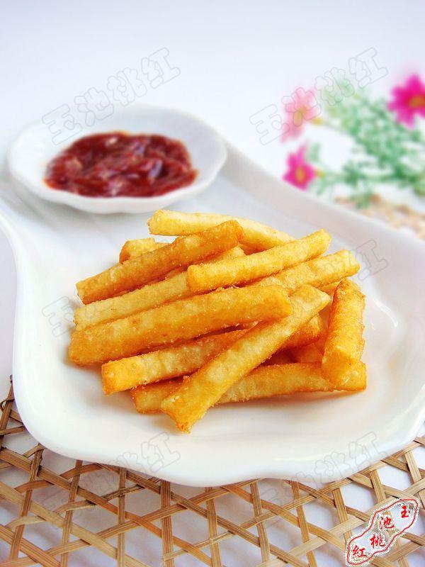 自制美味薯条的做法
