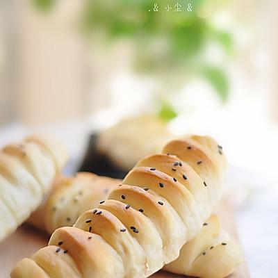 充满童趣的面包——毛毛虫面包