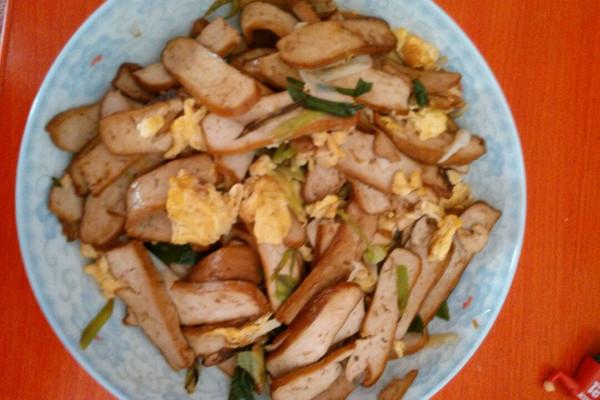 鸡蛋炒香干的做法