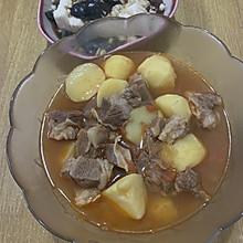 肉烂汤鲜的西红柿土豆炖牛腩