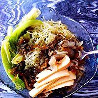 减肥餐 超满足海藻魔芋面的做法图解2
