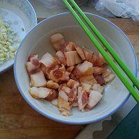 西葫芦炒肉的做法图解3