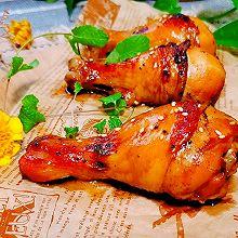 #太太乐鲜鸡汁玩转健康快手菜#吮指烤鸡腿