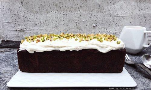 fluff棉花糖之巧克力核桃仁夹心磅蛋糕#有颜值的实力派#的做法